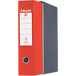 Registratore Esselte Eurofile rosso 2 80 mm 31,5 (h) x 8 (l) cm