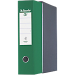 Registratore Esselte Eurofile verde 2 80 mm 30 x 28,5 cm