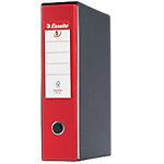 Registratore Esselte Eurofile rosso 2 80 mm 35 (h) x 8 (l) cm