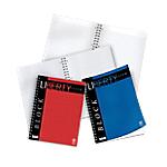 Blocchi spiralati Pigna Liberty A4+ rosso blu a quadretti di 5 mm 29,7 (h) x 21 (l) cm microperforazione + 4 fori 70 g