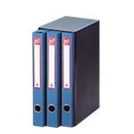 Gruppo di classificatori ACCO Jazz 3 Terzetto cartone 34,5 (h) x 15 (l) cm blu