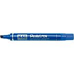 Marcatori Pentel N60 quadra 5.5 mm blu 12 pezzi