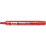 Marcatori permanenti Pentel N60 forma della punta quadra 5.5 mm rosso 12 pezzi