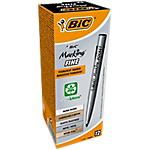 Marcatori BIC Marking Pocket punta tonda 1,1 mm nero 12 pezzi