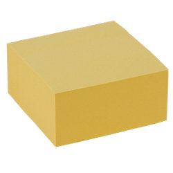 Notes giallo pastello Office Depot 76 x 76 mm