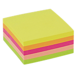 Cubo Office Depot Neon assortito 76 x 76 mm 75 g