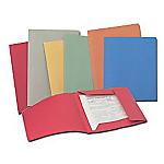 Cartelline ACCO 3 lembi Spring Light cartoncino riciclato 34 (h) x 25 (l) cm arancione 50 pezzi
