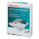Carta Office Depot Color Printing formato A4 grammatura 120 g m2 in risma da 250 fogli