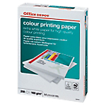 Carta Office Depot Color Printing formato A4 grammatura 160 g m2 in risma da 250 fogli
