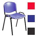 Sedia per sala d'attesa Classic ppl blu