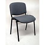 Sedia per sala d'attesa Classic schiumato poliuretanico grigio scuro