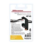 Cartuccia inchiostro Office Depot compatibile hp 45 nero 51645a