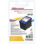 Cartuccia inchiostro Office Depot compatibile hp 57 3 colori c6657a