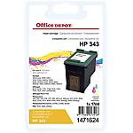 Cartuccia inchiostro Office Depot compatibile hp 343 3 colori c8766ee