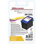 Cartuccia inchiostro Office Depot compatibile hp 22 3 colori c9352ce