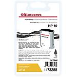 Cartuccia inchiostro Office Depot compatibile hp 10 nero c4844a