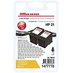 Cartuccia inchiostro Office Depot compatibile hp 21 nero c9508bn