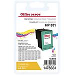 Cartuccia inchiostro Office Depot compatibile hp 351 3 colori cb337ee