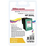 Cartuccia inchiostro Office Depot compatibile hp 351xl 3 colori cb338ee