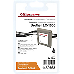 Cartuccia inchiostro Office Depot compatibile brother lc1000bk nero
