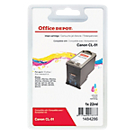 Cartuccia inchiostro Office Depot compatibile canon cl 51 3 colori