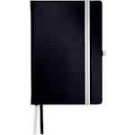 Taccuino Esselte Style HC A5 nero satin a righe non perforati 1,8 x 14,5 cm 100 g