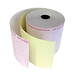 Carta in rotolo per stampanti pos 57mm (p) x 20m (l) x 12mm (Ø) bianco 10 rotoli