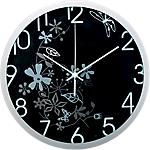 Orologio da parete Methodo Flower grigio nero 5 (h) x 30,5 (p) x 30,5 (Ø) cm