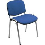 Sedia per sala d'attesa Classic acrilico blu