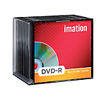DVDR Imation da 47GB 16x spindle da 10 pz