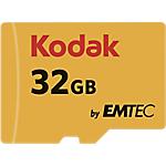 Scheda di memoria EMTEC KODAK Micro SDHC UHS I U1 32 gb