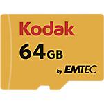 Scheda di memoria EMTEC KODAK Micro SDHC UHS I U1 64 gb