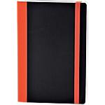 Taccuino ExaClair Soft&Color arancione a righe 21 x 15 cm 90 g