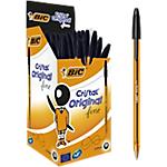 Penne a sfera BIC Cristal Fine 0.8 mm nero 50 pezzi