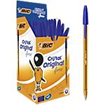 Penne a sfera BIC Cristal Fine 0.4 mm blu 50 pezzi