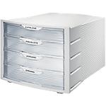 Cassettiera modulare HAN Monitor grigio A4 4 29,4 (l) x 36,8 (p) x 23,5 (h) cm