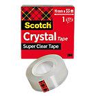 Nastro adesivo Scotch Crystal trasparente 19mm (l) x 33m (l)