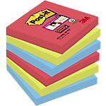Notes riposizionabili Post it Super Sticky Precious assortiti 76 x 76 mm 70 g