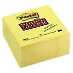 Foglietti Riposizionabili Cubo Post it Neon giallo 76 x 76 mm 70 g