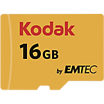 Scheda di memoria EMTEC KODAK Micro SDHC UHS I U1 16 gb