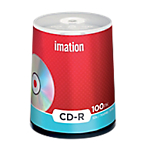 CD scrivibili Imation spindle da 100 pz