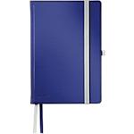Taccuino Esselte Style HC A5 blu titanio a righe non perforati 1,8 x 14,5 cm 100 g