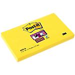 Notes riposizionabili Post it Super Sticky giallo 76 x 127 mm pezzi 90fogli