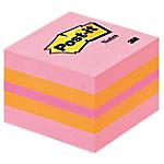Cubo Post it Mini assortito 51 x 51 mm 400 fogli