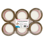 Nastri per imballo Office Depot marrone 50 µm 48mm (l) x 66m (l) 6 rotoli