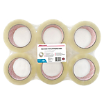 Nastri per imballo Office Depot trasparente 50 µm 50mm (l) x 100m (l) 6 rotoli
