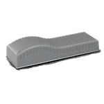 Cancellino con feltro Office Depot Magnetico grigio 15,5 (l) x 5,7 (h) cm