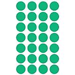 Etichette tonde adesive APLI verde 168 etichette 168 fogli