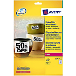 Etichette AVERY Zweckform L6103 Heavy Duty giallo 2,12 (h) x 4,57 (l) cm 20 fogli
