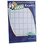 Etichette autoadesive Tico bianco 38 (l) x 19 (h) mm 100 etichette